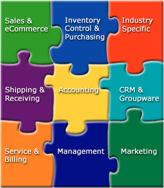 pieces to business management software